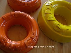 AWESOME diy giant life savers! Great idea for a Candyland birthday party!