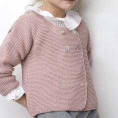 simple and sweet sweater Fall Outfits For Work, Kids Outfits, Crochet Baby, Knit Crochet, Chunky Knitting Patterns, Knitted Baby Clothes, Knit Sweater Dress, Julia, Knitting For Kids