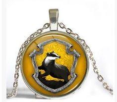 Gryffindor Slytherin Hufflepuff Ravenclaw Pendant Necklace