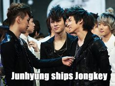 Junhyung ships Jongkey =3