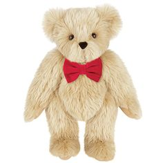 """15"""" PREMIUM FUR TEDDY BEAR from the Vermont Teddy Bear Company which guarantees all its bears for life and will fix them in their """"Bear Hospital"""" if they have a mishap."""