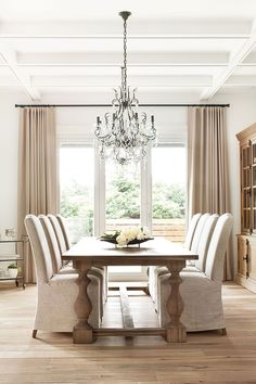 the chandelier!!!!! the stain on the table!! love!!!