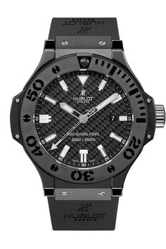 @Hublot Big Bang Black Magic #Hublot