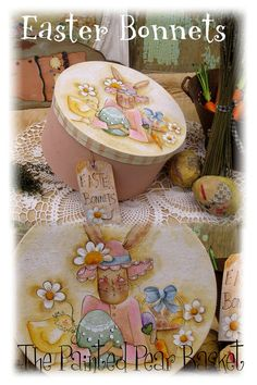 Easter Bonnets by Terrye French by PaintingWithFriends on Etsy, $5.00