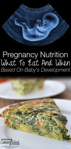 Get a trimester-by-trimester snapshot of how your baby is growing during pregnancy (hint: there's a LOT happening in a short time!). With all that's going on, you'll want to nourish your body and baby's body with nutrient-dense foods, right? Learn what to eat and when based on baby's development so you can get ideal nutrition during your pregnancy.
