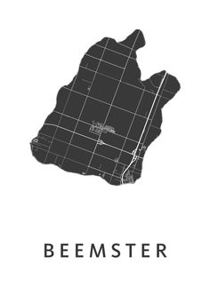 Beemster White City Map