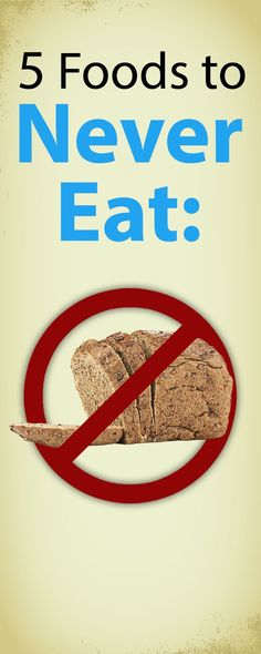 Get started on your weight loss journey today by cutting these five foods out of your diet.