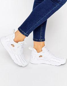 Reebok   Reebok – New Furylite – Weiße Sneakers bei ASOS