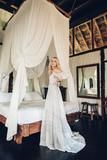 Anja Konstantinova wears Spell Designs The Elizabeth Gown