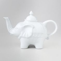 One of my favorite discoveries at WorldMarket.com: White Ceramic Teapots