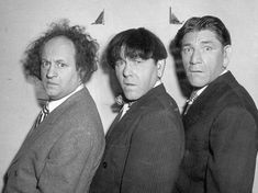 Moe, Larry & Shemp...