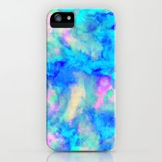 Electrify Ice Blue by Amy Sia as a high quality iPhone & iPod Case. Free Worldwide Shipping available at Society6.com from 11/26/14 thru 12/14/14. Just one of millions of products available.