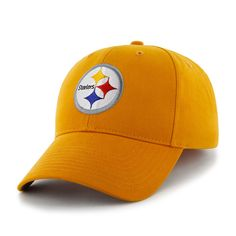 newest ecfb2 30199 Pittsburgh Steelers Basic MVP Gold 47 Brand KID Hat