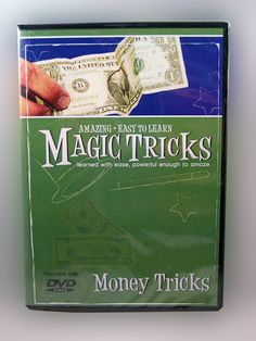 MONEY TRICKS..... Learn amazing tricks using money! You can make the magic happen with our instructional DVD. Included on this DVD: Penetrating Bill, Torn & Restored Bill, Inside Out Bill, Chango Bill, Karate Bill and much more! www.theonestopfunshop.com