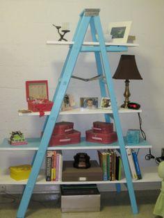 Ladder Bookshelf-- [Zo]mesticity: Ladder Shelf