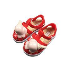 74e2162804a6 Children Sandal Girls Princess Shoes Fashionable Ice Cream Children Shoes  Sandal Cute Princess