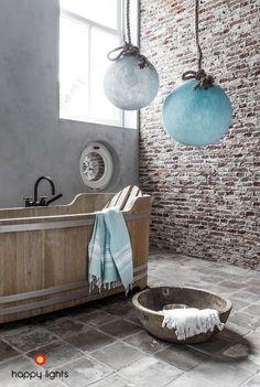De belles salles de bains de campagnes insolites