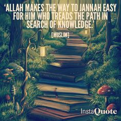 Knowledge in Islam is knowing why we follow certain things, thinking, and being practical- not blindly following things we have no knowledge of.