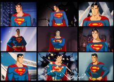 Superman busts! The Superman art of Des Taylor