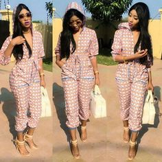 Ankara jumpsuits when designed and worn properly is comfortable for various occasions. See various Ankara jumpsuits for every occasion for the weekend. Get dressed up with the latest in Ankara fashion