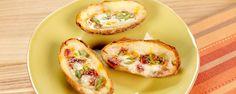 Loaded Potato Skins Recipe   The Chew - ABC.com