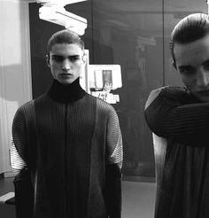 "Alexander Ferrario & Pascal De Wolff in ""Mantle"" Ph Joe Lai for Masses Magazine November 2013"