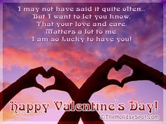 Happy Valentine Day SMS Message for Girlfriend Happy Valentines Day Sms, Valentine Day Week, Sms Message, Messages, Message For Girlfriend, Lucky To Have You, Valentine's Day, Saint Valentine, Wallpaper Quotes