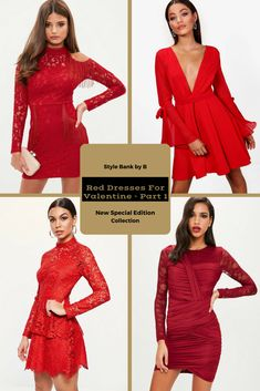 Looking for a red dress for Valentine's Day? 💝💘 Then check out our favourites from the Red Dresses For Valentines - Part 1 collection - http://www.stylebankbyb.com/fashion/special-edition-red-dresses-for-valentine-part-1 P.S. look out for part 2 of the collection on our website.