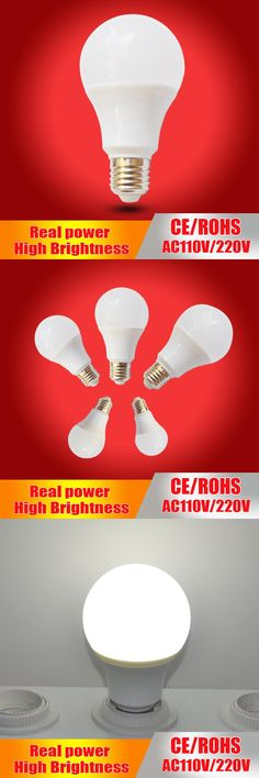 ZX New Aluminum Frame E27 LED 5W 7W 9W 12W 20W 25W No Flicker Cover