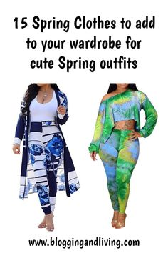15 Spring Clothes to add to your wardrobe for cute Spring outfits - Cute outfits #cuteoutfits #springclothes
