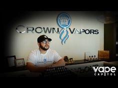 Vape Shop Spotlight - Crown Vapors Garden Grove - YouTube