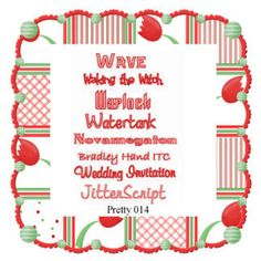 Pretty Font Series 014 - Instant download Wedding Script, Pretty Fonts, Machine Embroidery, Holiday Decor, Etsy, Beautiful Fonts, Cute Fonts