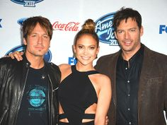 Star Tracks: Monday, February 24, 2014 | JUDGMENT DAY | After a tough night on American Idol, saying goodbye to some rising stars, Keith Urban, Jennifer Lopez and Harry Connick, Jr. celebrate their show's new top 13 at a bash at West Hollywood's Fig & Olive restaurant.