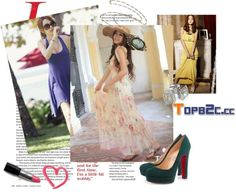 """""""summer-topb2c.cc"""" by violet-w-miller ❤ liked on Polyvore"""