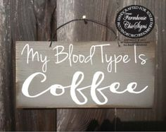 Coffee sign distressed wood Signs Pinterest