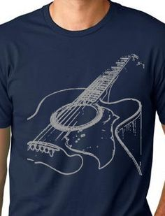 Hey, I found this really awesome Etsy listing at https://www.etsy.com/listing/78354495/acustic-guitar-cool-t-shirt