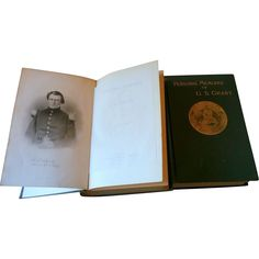 Antique First Edition of The Personal Memoirs of Ulysses S. Grant from lamontantiques on Ruby Lane