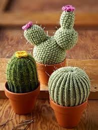 Resultado de imagen para cactus en crochet sencillos