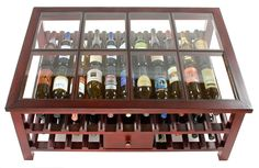 wine rack/display coffee table