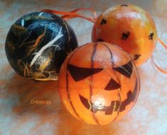 Boules décoration Halloween : Accessoires de maison par creasoize