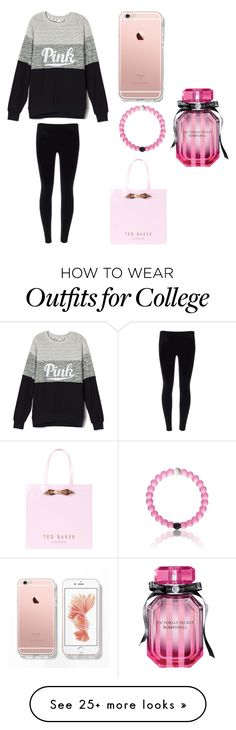"""Chill"" by kategould1 on Polyvore featuring Ted Baker and Victoria's Secret"