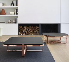 Fancy Chic, Tables basses Designer : Frédéric Ruyant   Ligne Roset