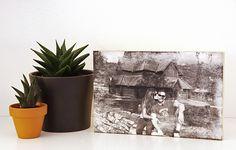 La vostra foto preferita trasferita su legno può diventare un bellissimo regalo o un elemento originale di arredamento per la casa