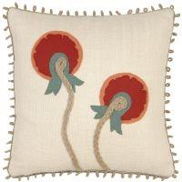 Folkloric - Circle Bloom Pillow