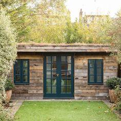 Garden Office Shed, Backyard Office, Backyard Studio, Backyard Sheds, Garden Studio, Backyard Cabin, Summer House Garden, Summer Houses, Garden Cabins