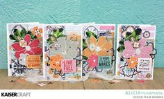 How to Make 4 Havana Nights Cards by Alicia McNamara