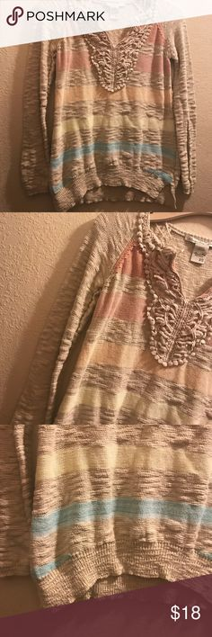 36f5235f1baf3 American Rag sweater firm price Used but the textured look is part of  style