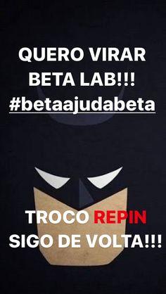 #Betaajudabeta #timbeta #betalab #repin #sdv