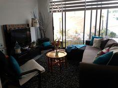 Sala, salón acogedor, salón para familias
