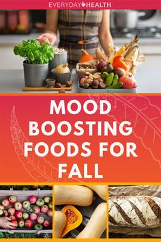 Here are six delicious good-mood foods to incorporate into your #fall diet.